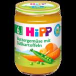 Hipp Buttergemüse mit Süßkartoffeln 190g