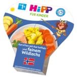 Hipp Bio Karotten mit Kartoffeln & feinem Wildlachs 250g
