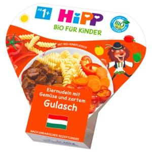 Hipp Eiernudeln Gemüse Gulasch 250g