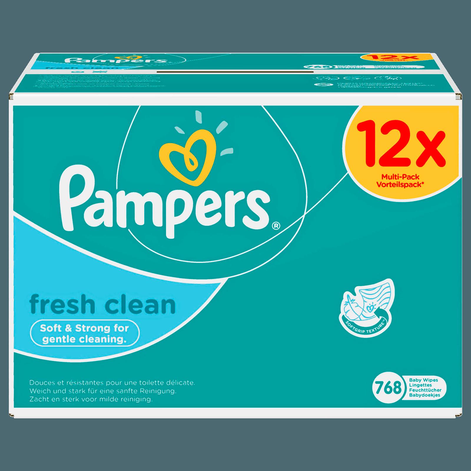 Pampers Feuchte Tücher Fresh Clean 768 Stück