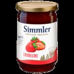 Simmler Erdbeer-Konfitüre extra 450g