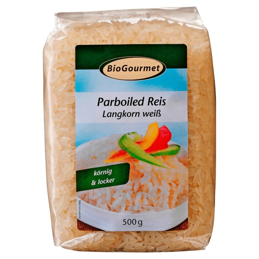 BioGourmet Parboiled Reis 500g