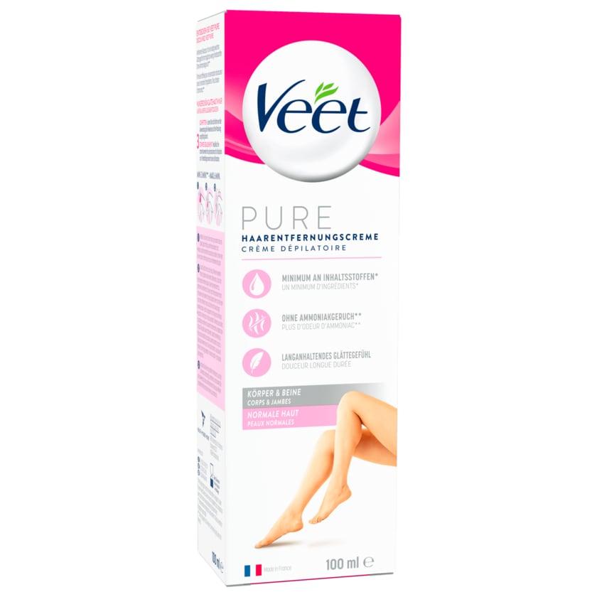 Veet Silk&Fresh Haarentfernungs-Creme normale Haut 100ml