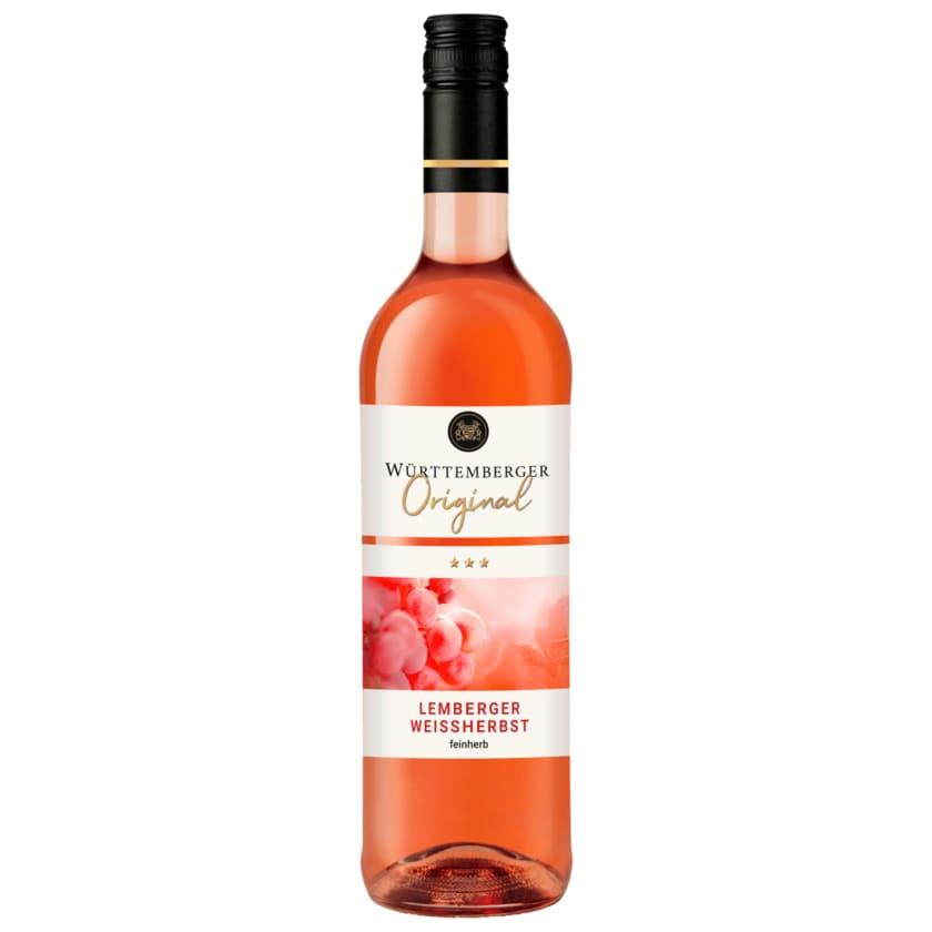 Württemberger Rosé Lemberger Weißherbst QbA halbtrocken 0,75l