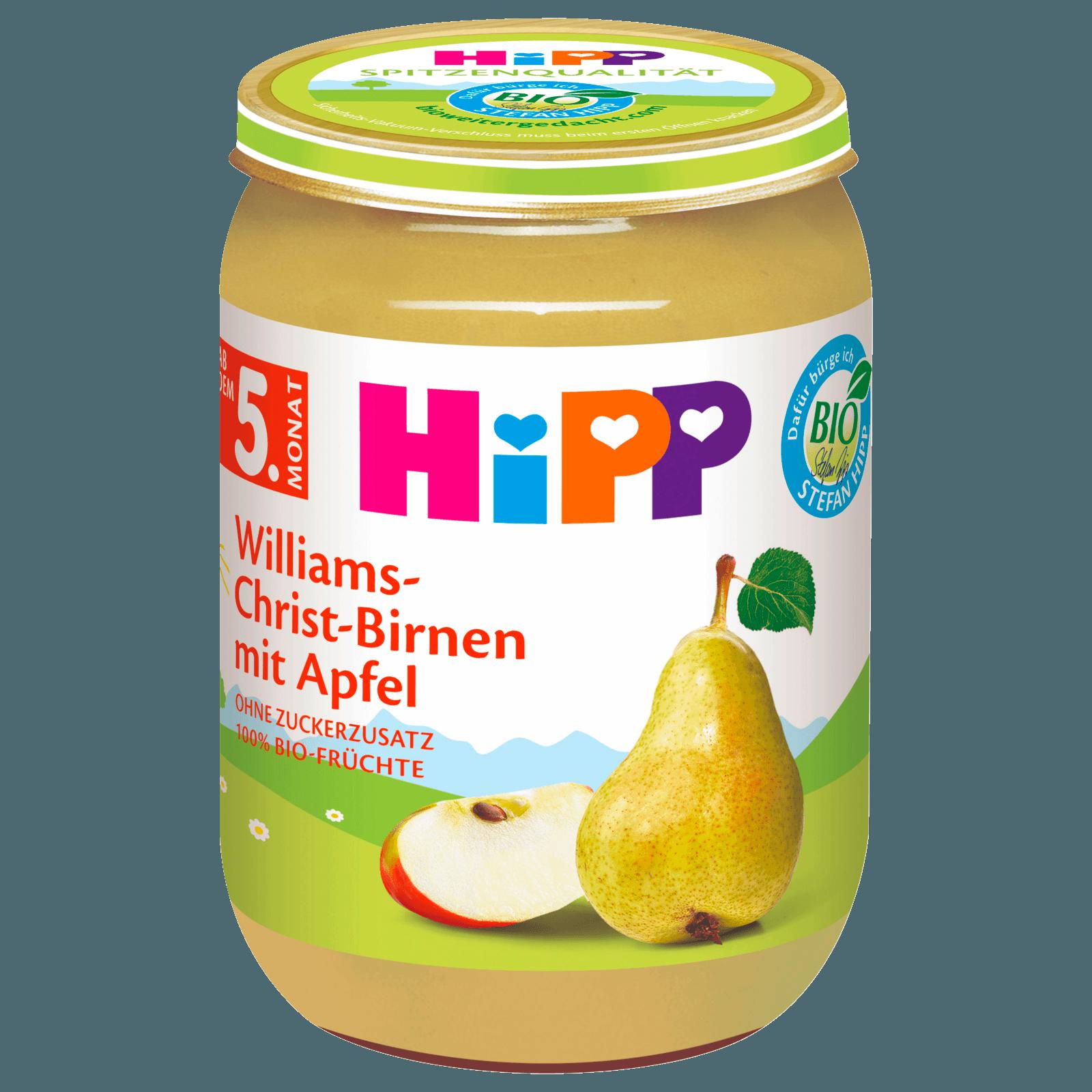 Hipp Williams-Christ-Birnen 190g