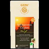 Gepa Schwarztee Ceylon 25x2g