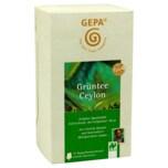 Gepa Bio Grüntee Ceylon 50g, 25 Beutel