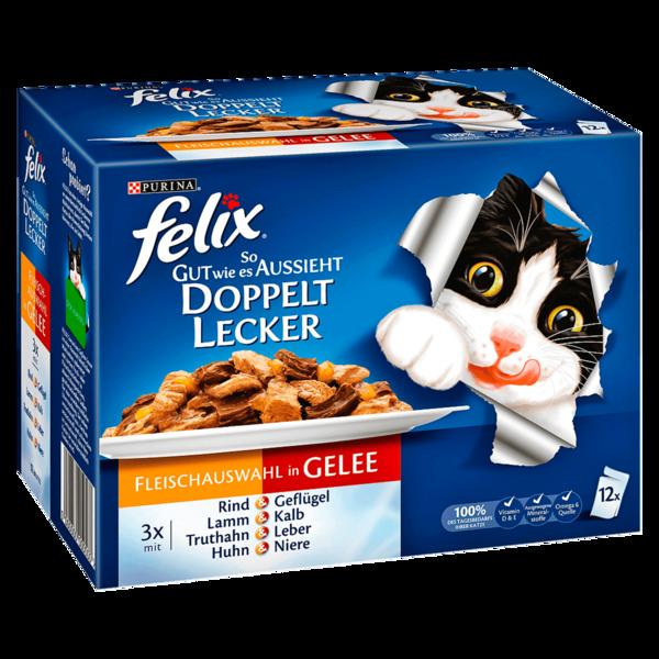 Felix Doppelt Lecker Fleischauswahl 12x100g