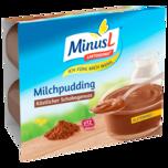 MinusL Milchpudding Schoko 4x125g
