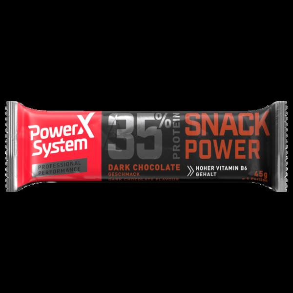 Power System Professional Eiweißriegel Dark-Chocolate-Geschmack 45g