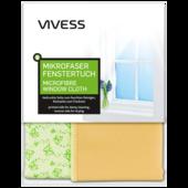 Vivess Mikrofaser Duo-Fenstertuch