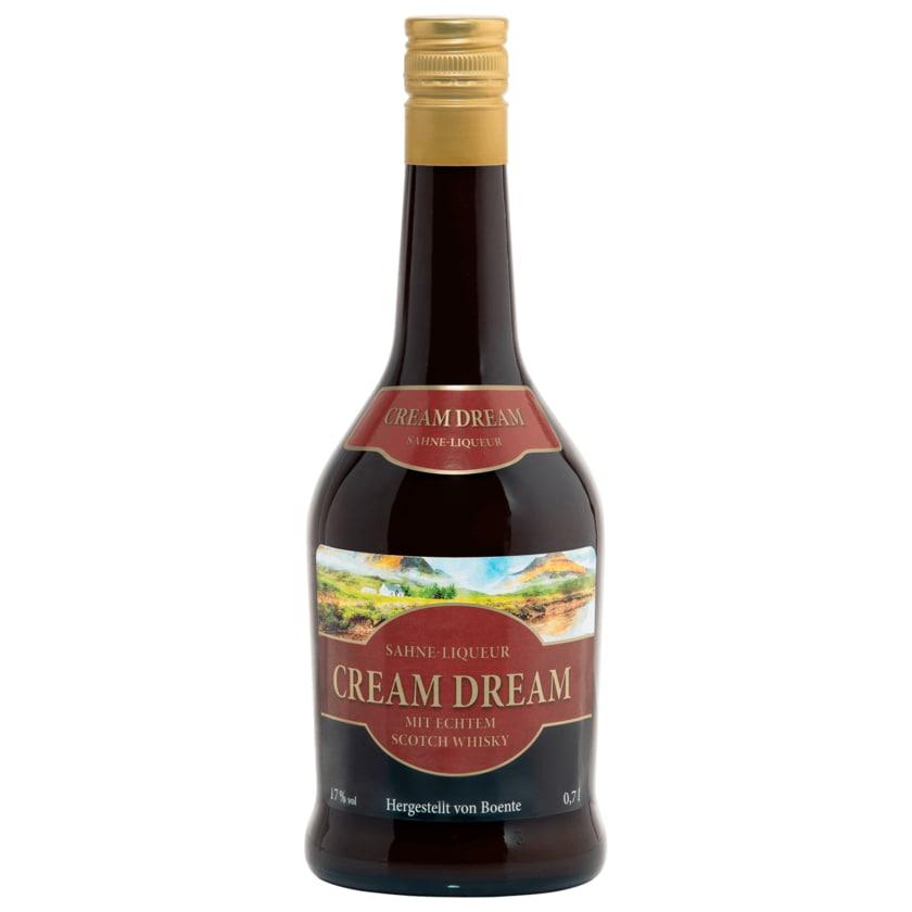 Boente Cream Dream Sahne-Liqueur 0,7l