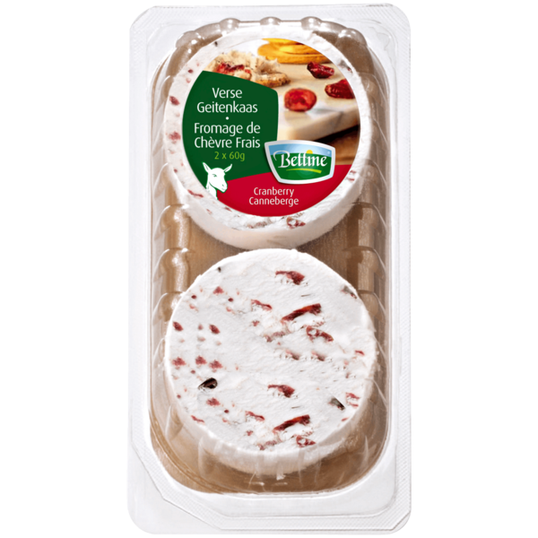 Bettine Ziegenfrischkäse Cranberry 120g