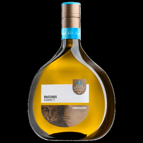 Sommeracher Weißwein Bacchus Kabinett halbtrocken