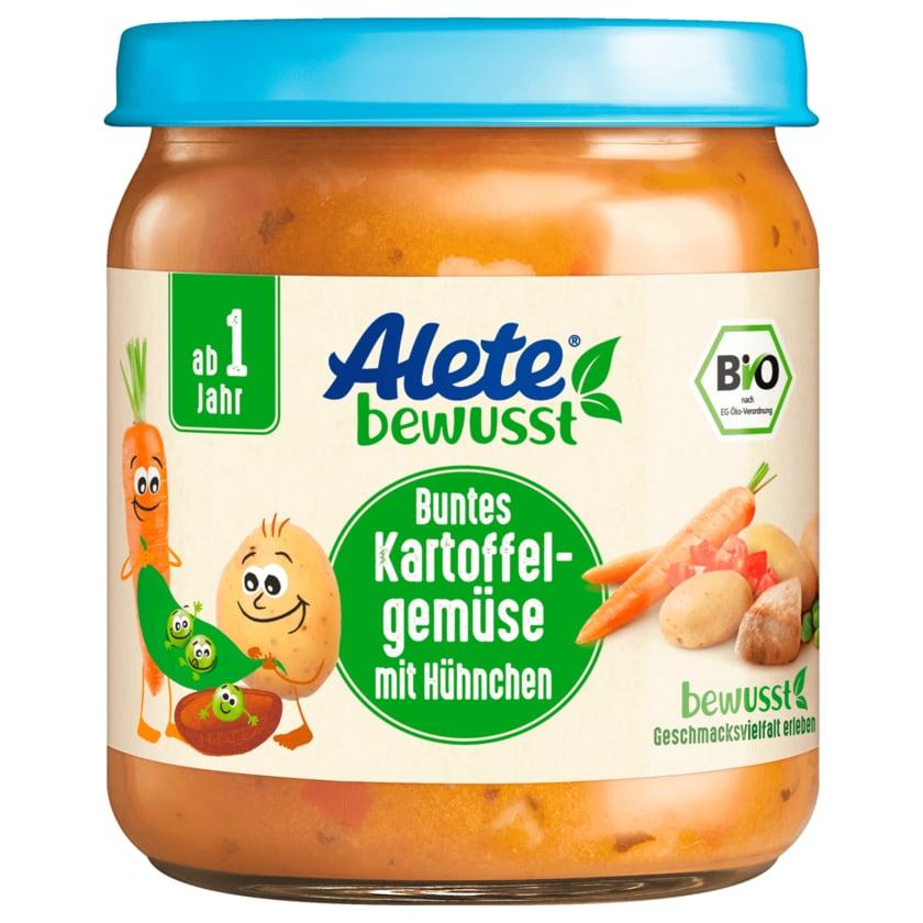 Alete Buntes Bio Kartoffelgemüse mit Hühnchen 250g