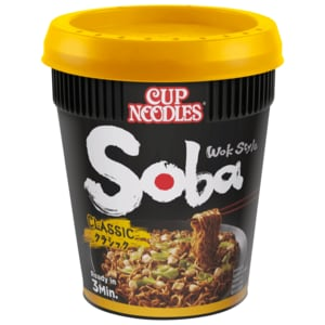 Nissin Soba Nudeln mit Yakisoba-Sauce Classic 90g