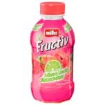 Müller Fructiv Erdbeere-Limette-Wassermelone 440ml