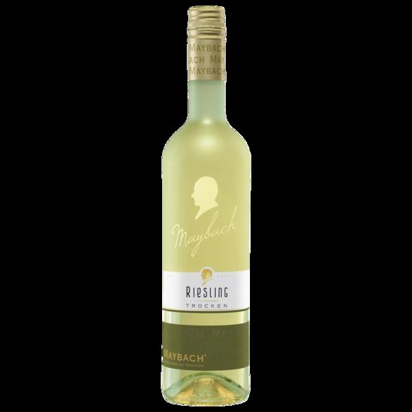Maybach Weißwein Riesling QbA trocken 0,75l