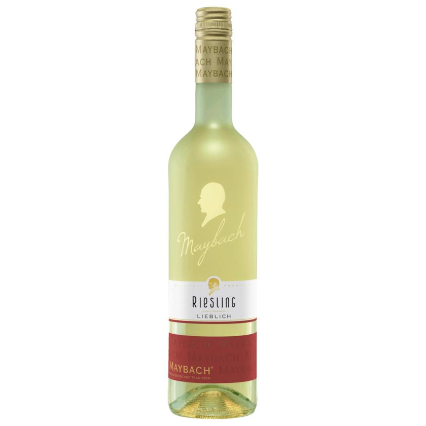 Maybach Weißwein Riesling QbA lieblich 0,75l