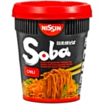 Nissin Soba Instant-Weizennudeln mit Chilisauce 92g