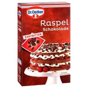Dr. Oetker Raspelschokolade Zartbitter 100g