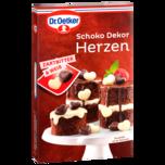 Dr. Oetker Schoko Dekor Herzen 47g