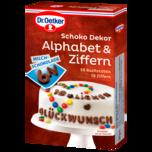Dr. Oetker Schoko Alphabet & Ziffern 58g