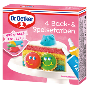 Dr. Oetker Back- & Speisefarben 4 Stück