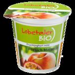 Lobetaler Bio-Joghurt Pfirsich-Maracuja 150g