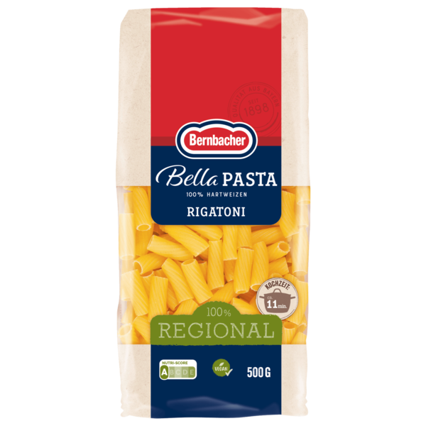 Bernbacher Bella Pasta Rigatoni 500g