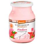 Schrozberger Milchbauern Bio Himbeere Fruchtjoghurt mild 3,5% 500g
