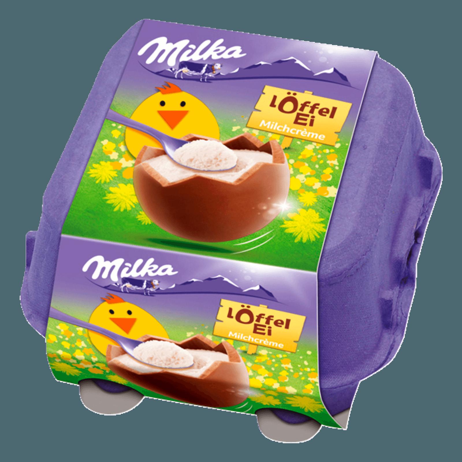 Milka Löffel-Ei Milchcreme 136g