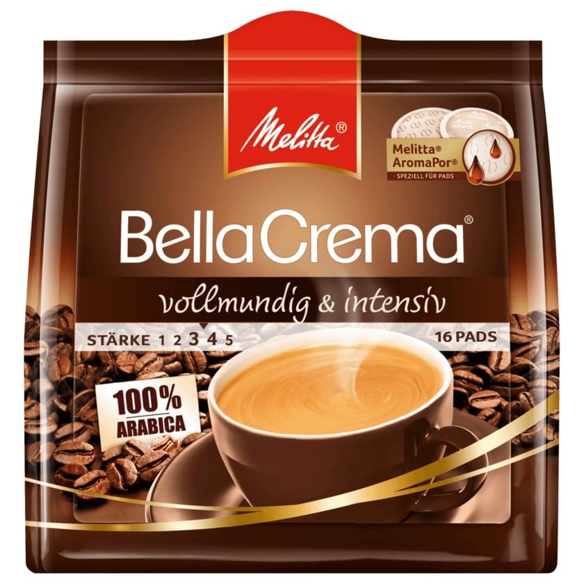 Melitta BellaCrema vollmundig & intensiv 107g, 16 Pads