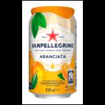 San Pellegrino Limonade Orange 0,33l