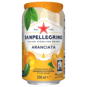 San Pellegrino Limonade Orange 0,33l