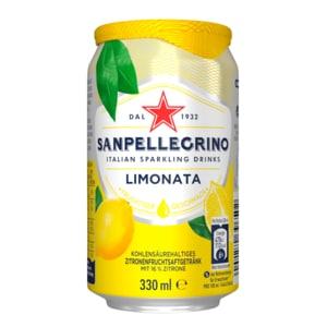 San Pellegrino Limonade Zitrone 0,33l