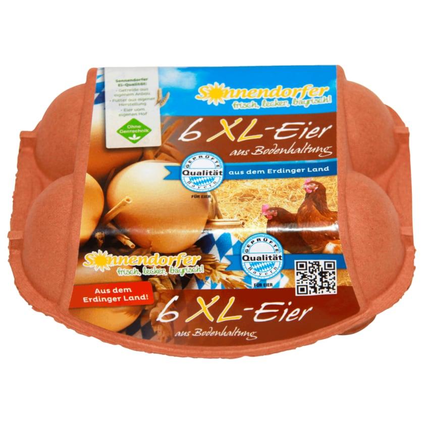 Sonnendorfer Eier Bodenhaltung 6 Stück