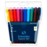 Schneider Fineliner im Etui 10er-Set