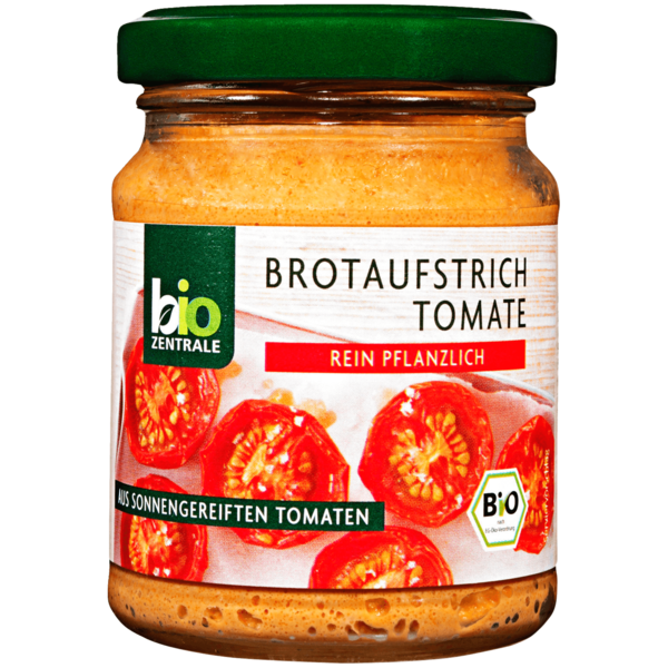 Bio Zentrale Brotaufstrich Tomate sonnengereift 125g