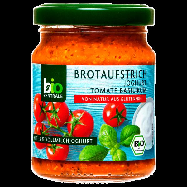Bio Zentrale Brotaufstrich Joghurt Tomate-Basilikum 125g