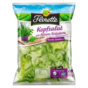 Florette Kopfsalat mit feinen Kräutern 175g