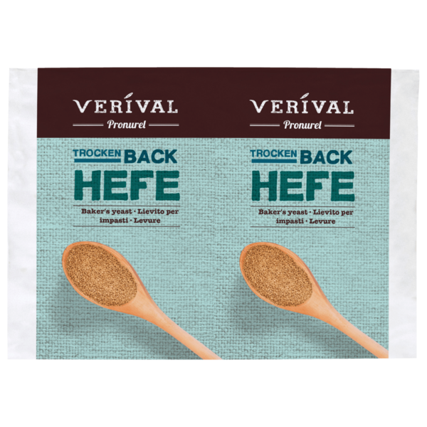 Verival Bio Backhefe 2x9g