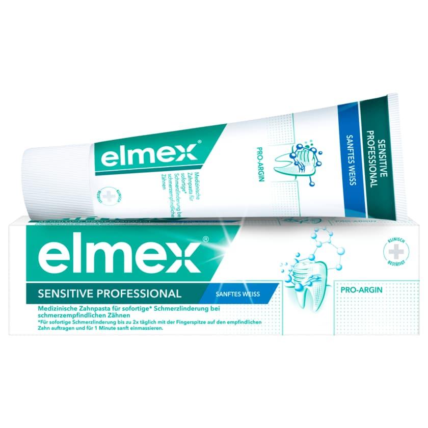 Elmex Zahnpasta Sensitive Professional sanftes Weiss 75ml