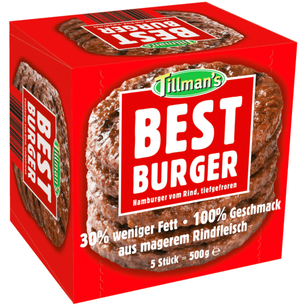 TK Best Burger 500g