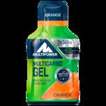 Multipower Multicarbo Gel Orange 40g