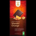 Gepa Bio Mandel-Orange Schokolade Noir 100g