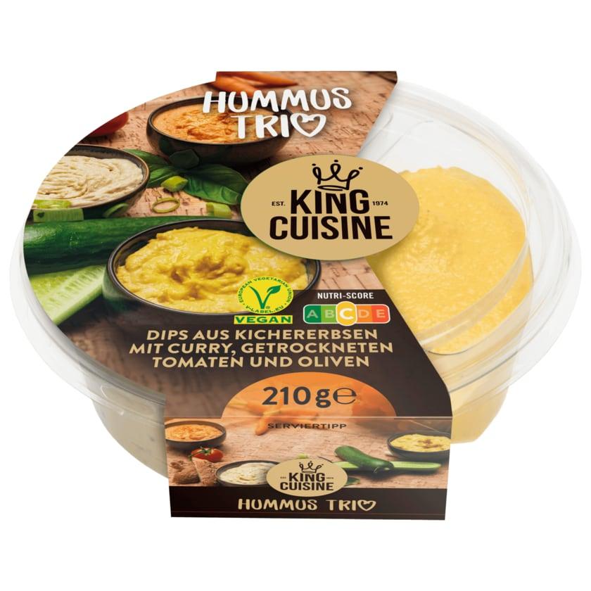 King Cuisine Hummus Trio 210g