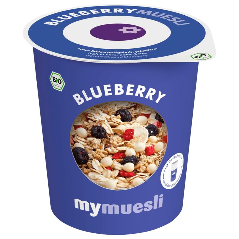 Mymuesli 2 Go Bio Blaubeer Müsli 85g