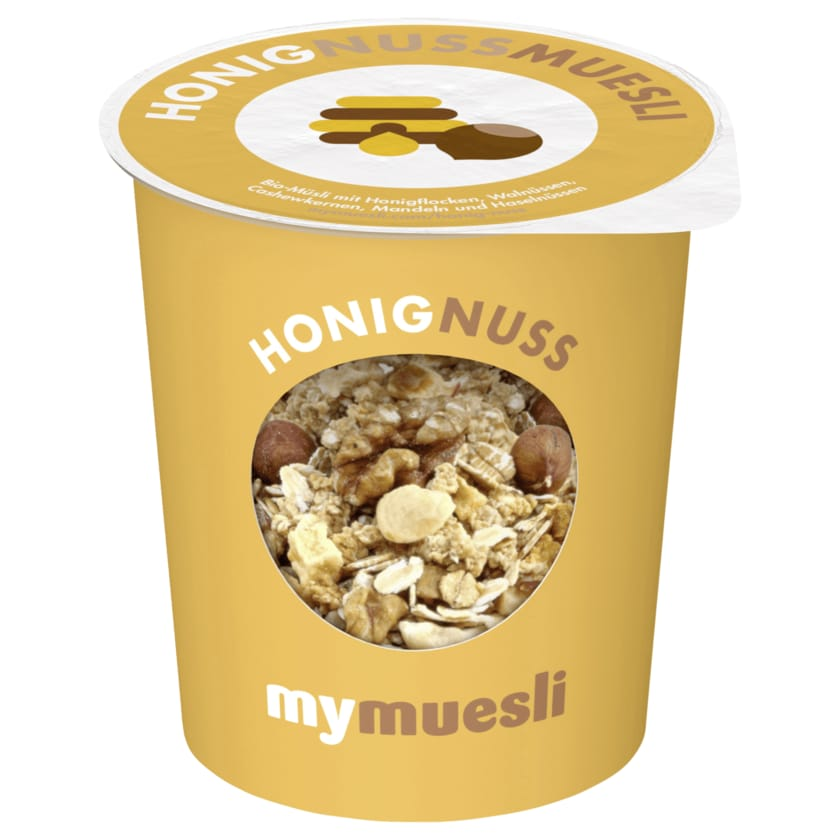 Mymuesli Bio Honig-Nuss-Müsli 85g