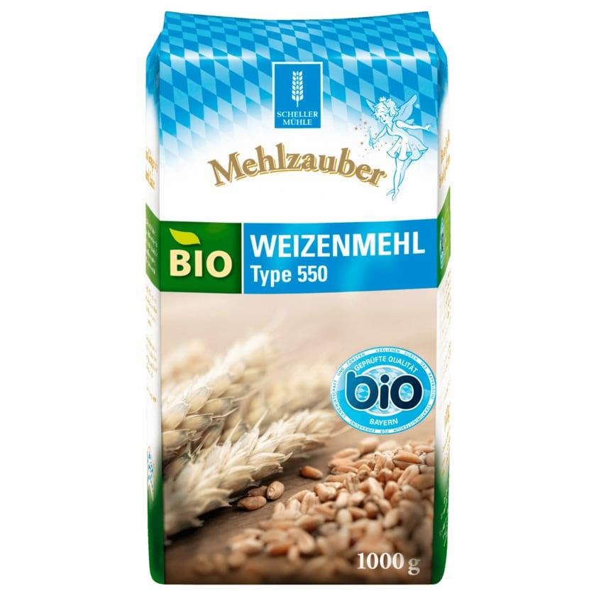 Mehlzauber Bio Weizenmehl Type 550 1kg